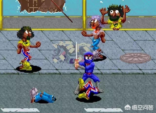 经典街机游戏中,有哪些比较精彩的火焰焚烧敌兵特效?