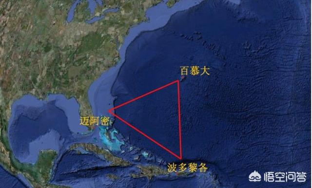 百慕大三角是不是黑洞的入口呢?