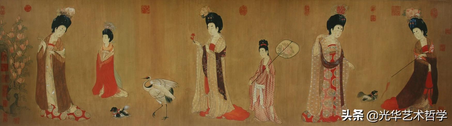唐代仕女画的艺术特点?