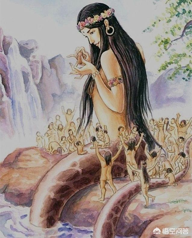 为什么古神大多都是人首蛇身呢?有什么特殊的含义吗?