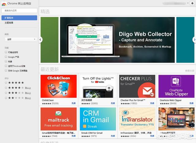你极力推荐的Chrome扩展有哪些?