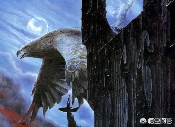电影《霍比特人》和《指环王》中甘道夫召唤来的巨鹰有什么来历?